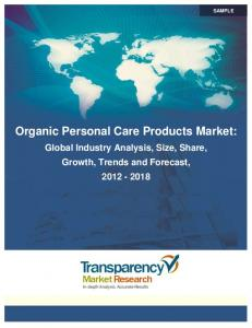 Organic Personal Care Products Market: