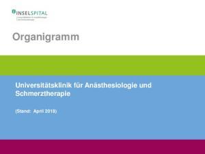 Organigramm (Stand: Februar 2016)