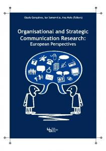 Organisational and Strategic Communication Research: