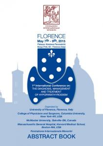 Organized by University of Florence, Florence, Italy College of Physicians and Surgeons, Columbia University, New York-NY, USA McMaster University,