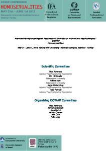 Organizing COWAP Committee