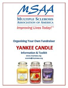 Organizing Your Own Fundraiser. YANKEE CANDLE Information & Toolkit