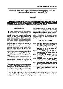 Oribatids from the Carpathian Basin with zoogeographical and taxonomical notes (Acari: Oribatida), II