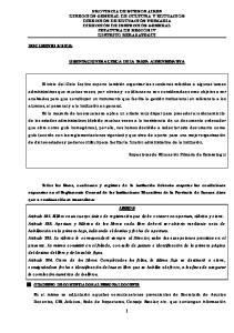 ORIENTACIONES ACERCA DE LA TAREA ADMINISTRATIVA