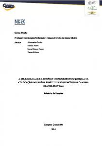 Orientador: Glauco Ferreira de Souza Ribeiro