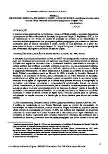 Orientadora: Prof. DR Maria Jose de Almeida