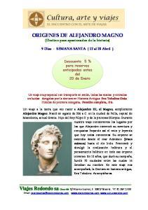 ORIGENES DE ALEJANDRO MAGNO (Destino para apasionados de la historia)