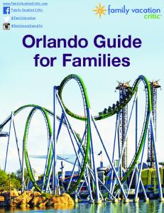 Orlando Guide for Families