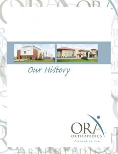 ORTHOPEDICS ORTHOPEDICS RTHOPEDICS ORTHOPEDICS. Focused on You