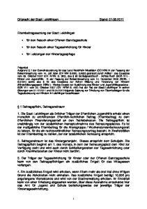 Ortsrecht der Stadt Leichlingen Stand: