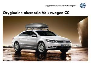 Oryginalne akcesoria Volkswagen. Oryginalne akcesoria Volkswagen CC