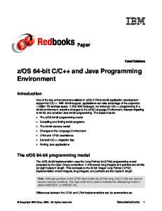 os 64-bit programming model