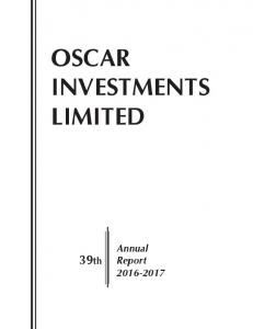 OSCAR INVESTMENTS LIMITED