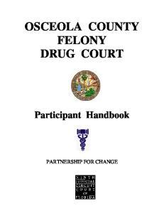 OSCEOLA COUNTY FELONY DRUG COURT