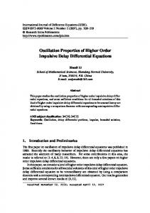 Oscillation Properties of Higher Order Impulsive Delay Differential Equations