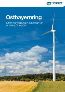 Ostbayernring. Stromversorgung in Oberfranken und der Oberpfalz