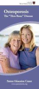 Osteoporosis The Thin Bone Disease