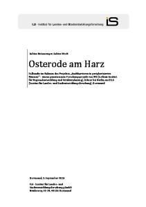Osterode am Harz. Sabine Beisswenger, Sabine Weck