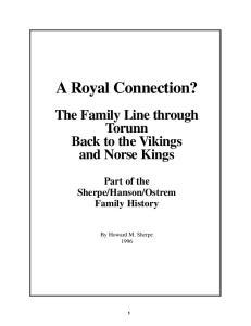 Ostrem Family History