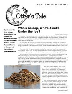 Otter s Tale. The. Under the Ice?
