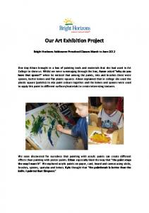 Our Art Exhibition Project