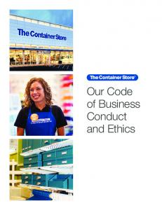 Our Code of Business Conduct and Ethics