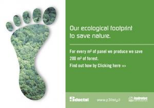 Our ecological footprint to save nature