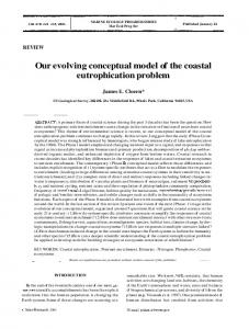 Our evolving conceptual model of the coastal eutrophication problem
