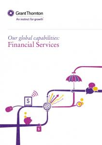 Our global capabilities: Financial Services