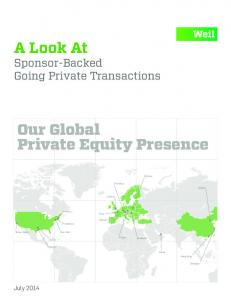 Our Global Private Equity Presence