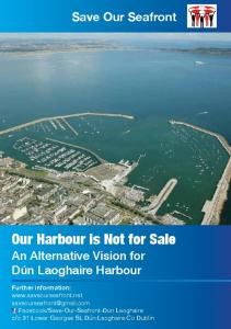 Our Harbour is Not for Sale