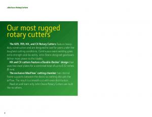 our most rugged rotary cutters
