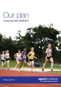 Our plan Corporate plan