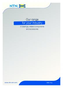 Our range for your industry