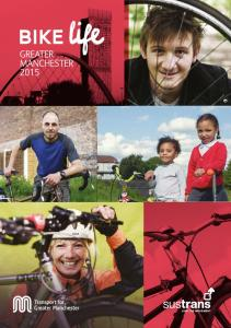 Our vision for the bike in Greater Manchester