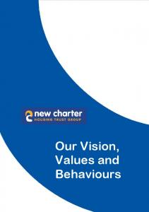 Our Vision, Values and Behaviours