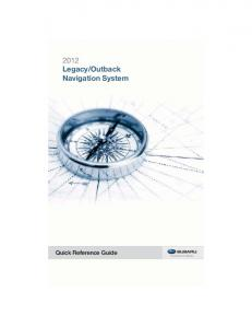 Outback Navigation System