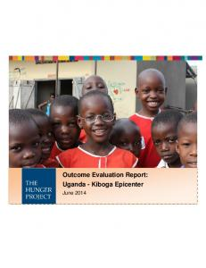 Outcome Evaluation Report: Uganda - Kiboga Epicenter