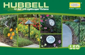 Outdoor Lighting. 12-Volt LED Lightscaper Fixtures