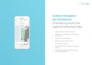 Outdoor-Navigation per Smartphone Orientierung durch Ihre eigene Krankenhaus-App