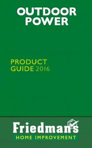 OUTDOOR POWER PRODUCT GUIDE 2016