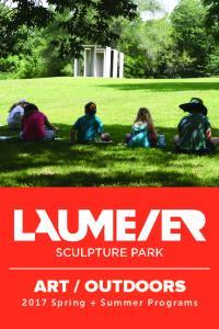 OUTDOORS Spring + Summer Programs