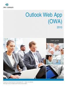 Outlook Web App (OWA)