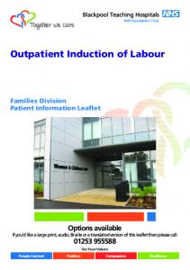 Outpatient Induction of Labour