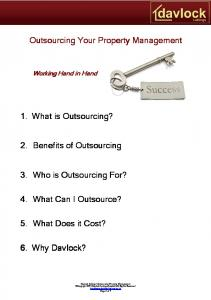 Outsourcing Your Property Management