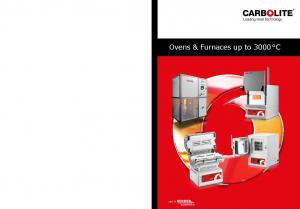Ovens & Furnaces up to 3000 C