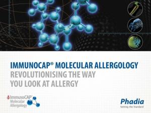 Over View An Introduction to Molecular Allergology
