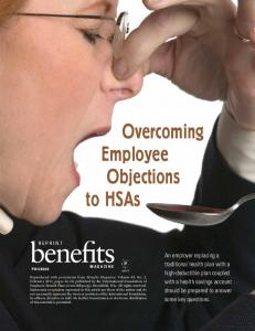 Overcoming Employee Objections to HSAs