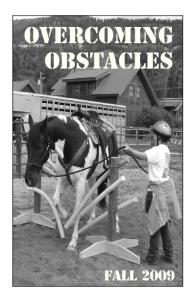 Overcoming Obstacles Fall 2009