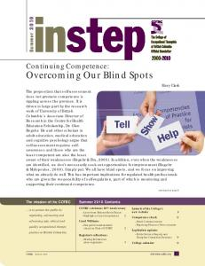 Overcoming Our Blind Spots